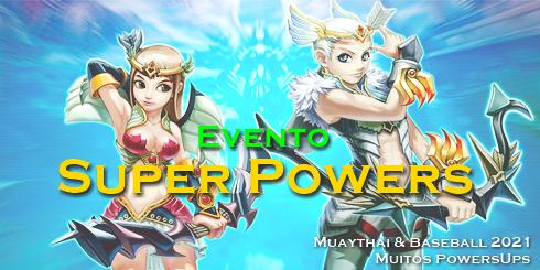 Evento Super Powers (2021)